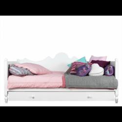 bopita lit banquette 90x200 belle blanc bopita. Black Bedroom Furniture Sets. Home Design Ideas