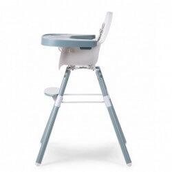 Chaises hautes Chaise evolu 2 set avec pieds long tablette abs childhome