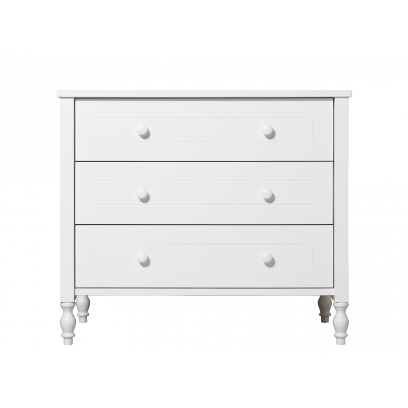 bopita commode avec 3 tiroirs belle blanc bopita. Black Bedroom Furniture Sets. Home Design Ideas