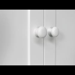 Bopita Armoire 2 portes avec tiroir belle blanc bopita
