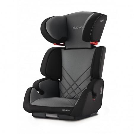 Siège-auto groupe 2/3 (15-36kg) Siège auto groupe 2 3 Milano Seatfix Carbon Black Recaro
