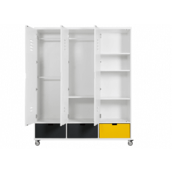 Armoire 3 portes locker bopita