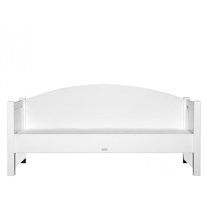 bopita lit banquette 90x200 boris blanc bopita. Black Bedroom Furniture Sets. Home Design Ideas