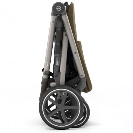 Poussette 4 roues GAZELLE S châssis Bronze Cybex
