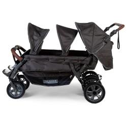 Poussette quadruple et + Poussette sextuple Six Seater Autobrake Childhome