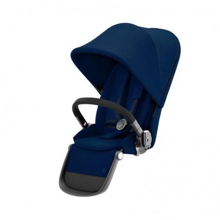 Poussette 4 roues GAZELLE S Siège supplémentaire châssis Black