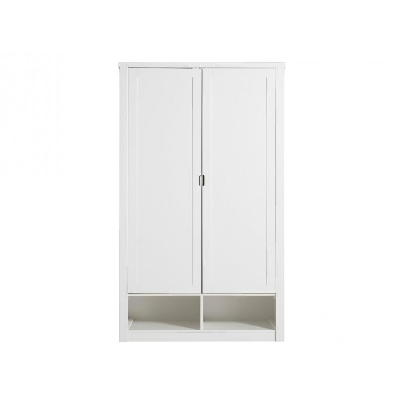 Bopita Armoire 2 portes mix & match luxe blanc (sans 2 tiroirs 3546xx) bopita