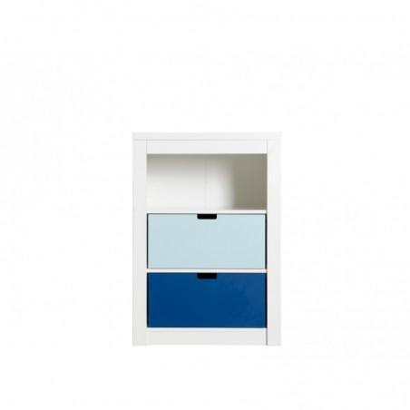 Meubles de rangement Placard simple 3 compartiments ouverts mix & match