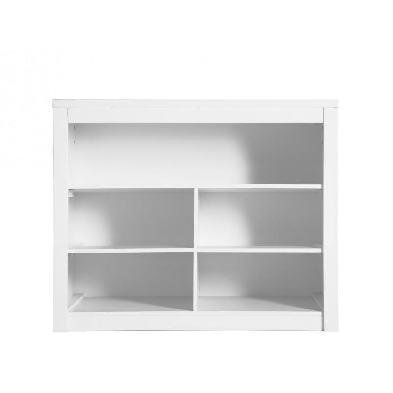Bopita Placard double 5 compartiments ouverts mix & match blanc (sans4 tiroirs 3546xx) bopita