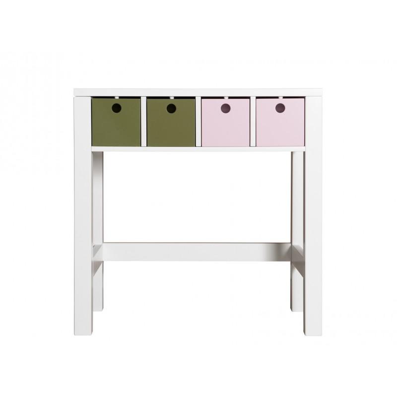 Bopita Table de toilette mix & match blanc sans 4 tiroirs 6846xx bopita