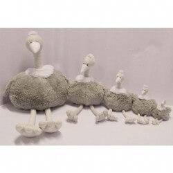 Peluches / coussin musical Bobo - autruche - 22 cm quax