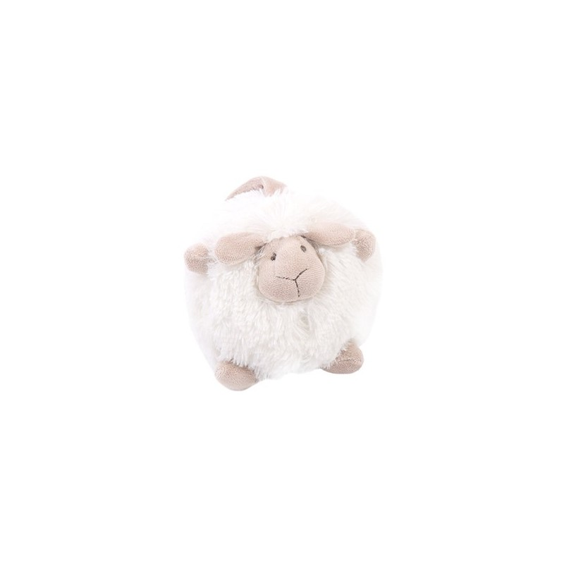 Peluches / coussin musical Milk - o-sheep + music 15*16 cm quax