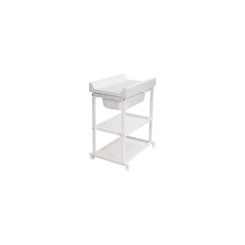 table langer meuble de bain meuble de bain basic avec 2 etageres white
