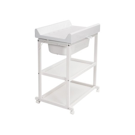 Table à langer / Meuble de bain Meuble de bain basic avec 2 etageres - white quax