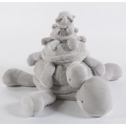 Peluches / coussin musical Theodore tortue quax