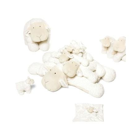 Peluches / coussin musical Mouton milk quax