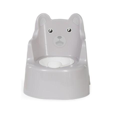 Pot / Réducteur WC Potty ours avec dossier quax