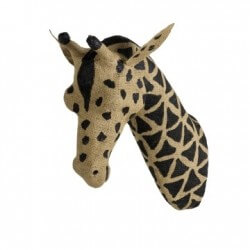 T te d 39 animal girafe quax for Decoration murale tete animaux