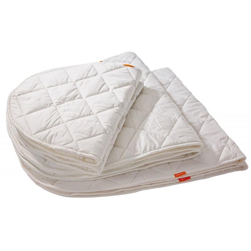 Leander Surmatelas pour lit bébé blanc leander