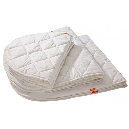 Surmatelas pour lit bébé blanc leander