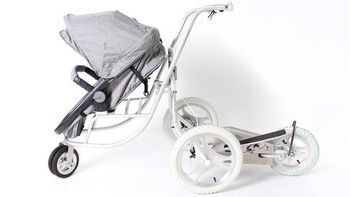 Après bébé, prenez soin de votre forme avec la poussette elliptique