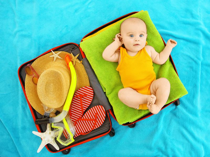 L'indispensable à emporter pour les premières vacances avec bébé
