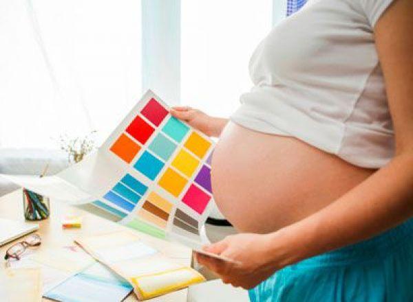 La préparation de la chambre de bébé