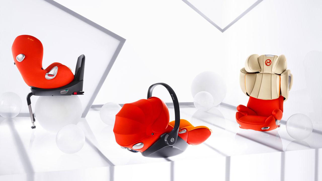 Cybex : innovation de nouveaux produits approuvés par des crash-tests et récompensés par plus de 250 prix