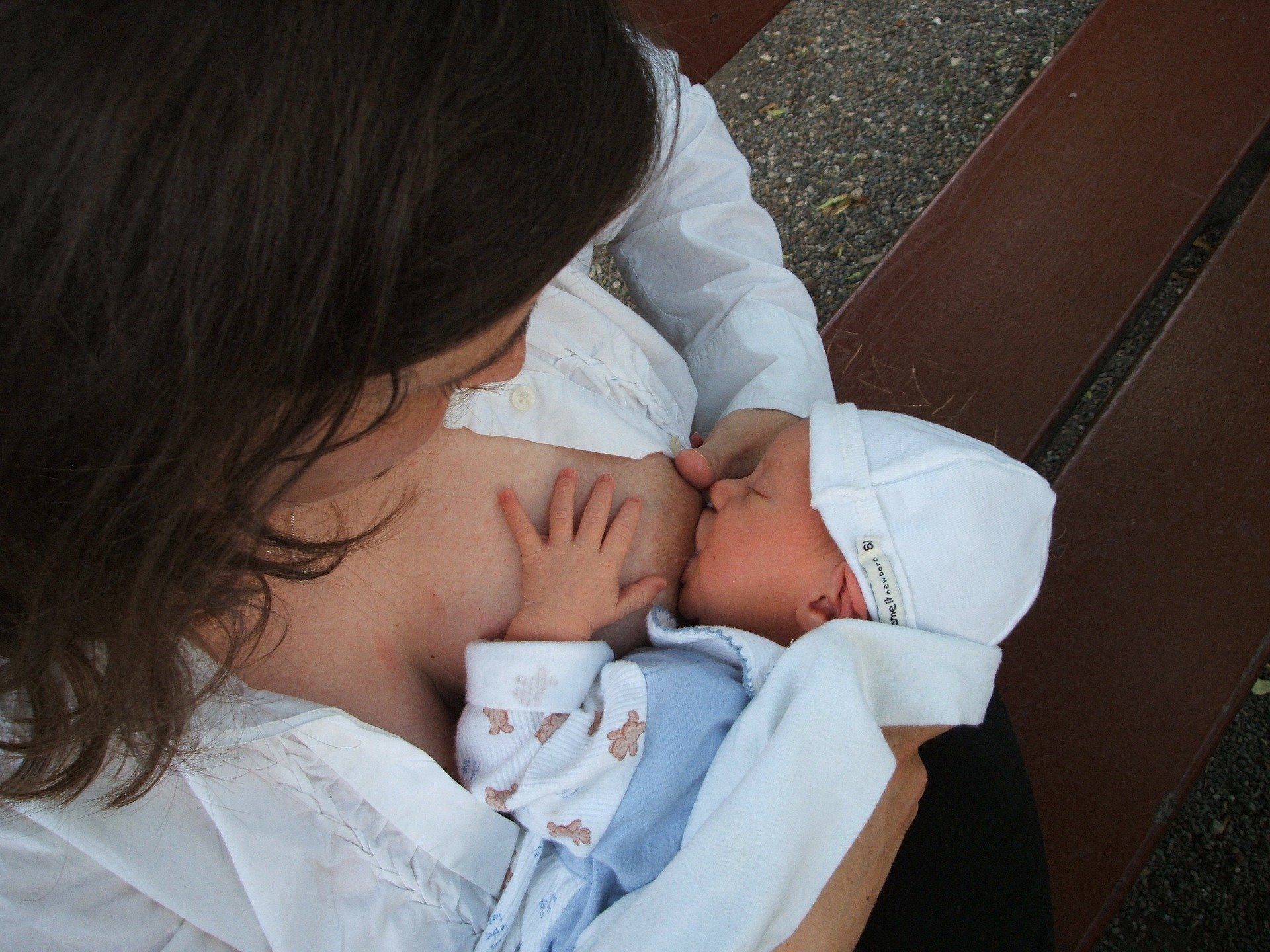 La relation entre bébé et maman